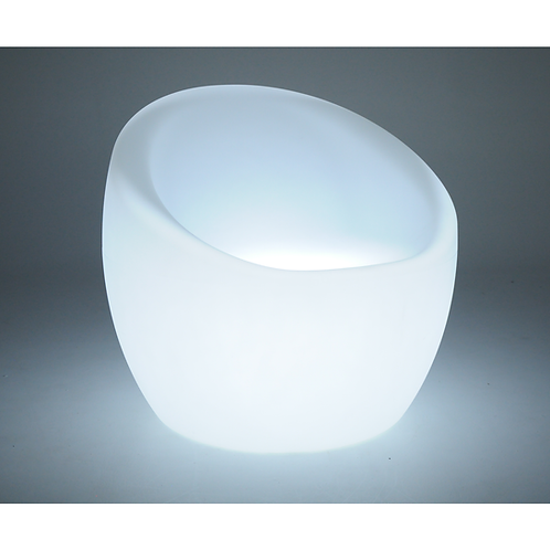 """""""OCA"""" LUMIERE LED CHAIR IN WHITE"""