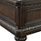 "Thumbnail: ""BEDDINGTON"" 4 PCS BEDROOM SET IN DARK CHERRY FINISH"