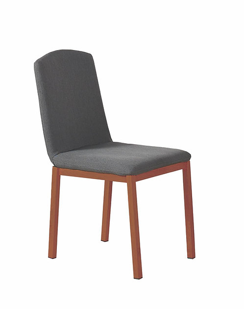 """""""JOLENE""""  4 DINING CHAIRS IN GREY"""