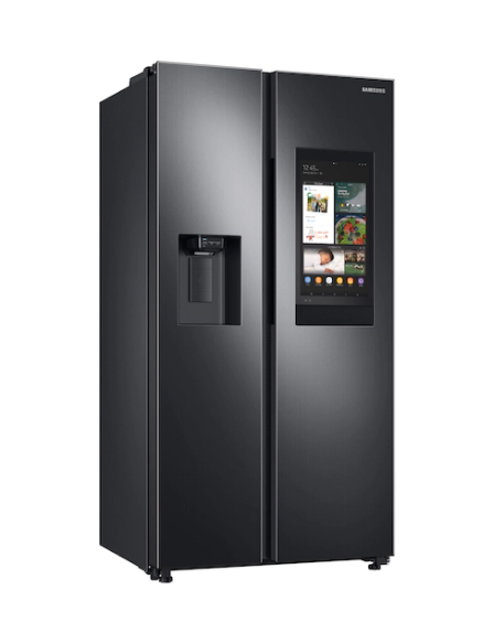 """""""SAMSUNG"""" 22 CU FT REFRIGERATOR WITH TOUCH SCREEN IN BLACK STAINLESS STEEL"""