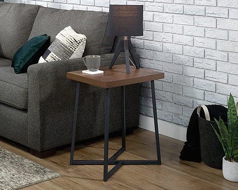 CANTON LANE® SIDE TABLE IN WALNUT FINISH