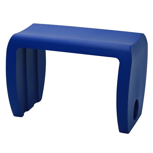 """VIRA"" SIDE TABLE IN GREY,ORANGE,WHITE,BLUE."