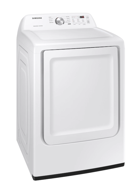 """""""SAMSUNG"""" 7.2 CU FT ELECTRIC DRYER WITH SENSOR DRY IN WHITE"""