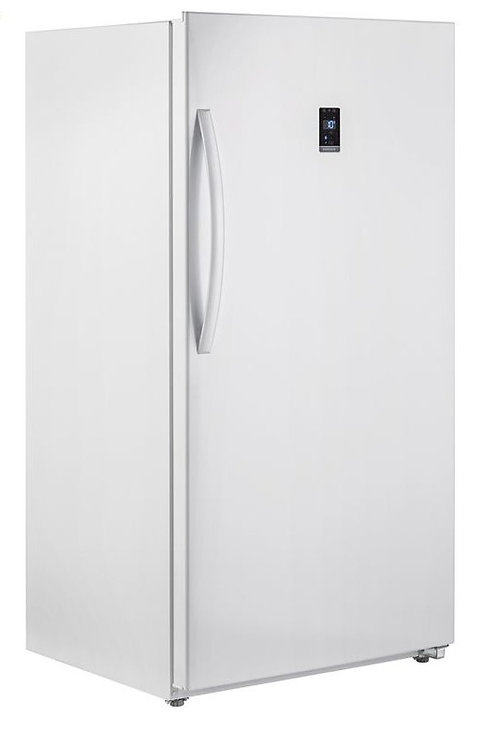 Vertical Freezer 13.8 Cu Ft Smad Electronics 110V In White