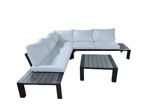 """""""SERENE"""" 3-PCS OUTDOOR SECTIONAL IN GREY"""