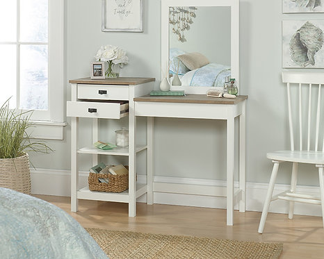 COTTAGE ROAD BEDROOM VANITY IN SOFT WHITE FINISH