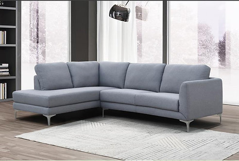 """""""KEYPORT"""" 2-PCS SECTIONAL IN FABRIC"""