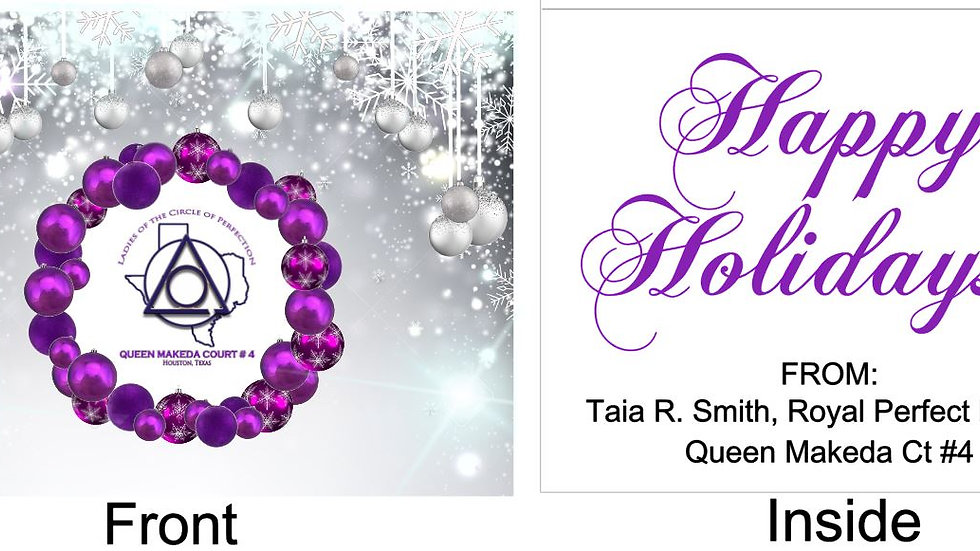Private Listing for Taia - Holiday Cards