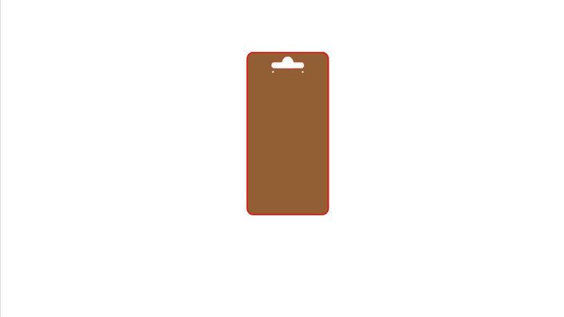 Kraft Brown Earring Cards