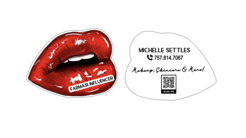 Private Listing for Michelle - Lip Cards and TShirt Cards