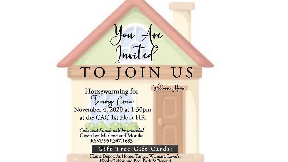 Private Listing for Monika - Housewarming Invite
