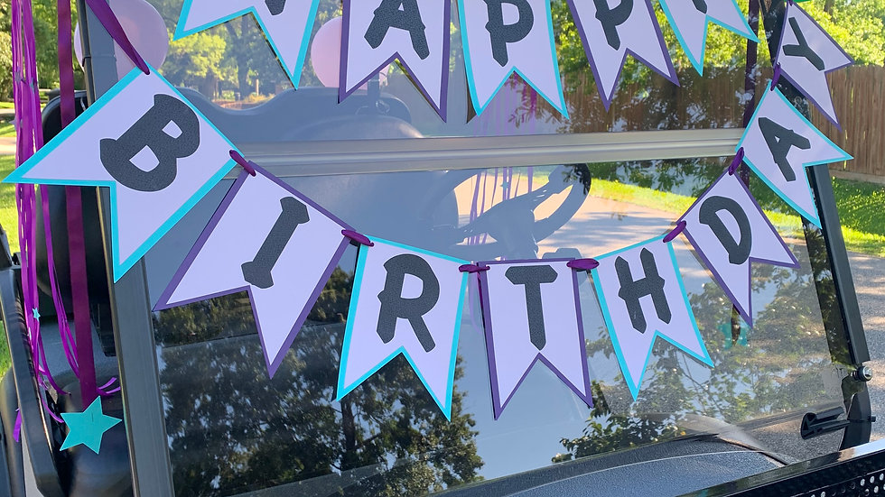 Happy Birthday Banner, You Are A Star Birthday Banner - 2 Strands