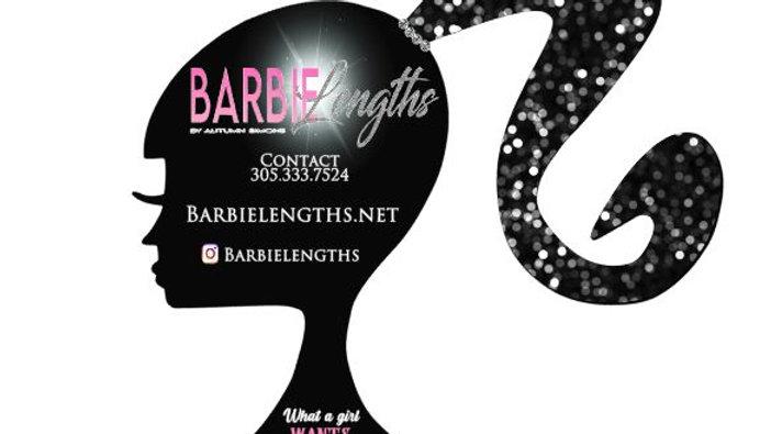 Barbie Shaped Business Flyers