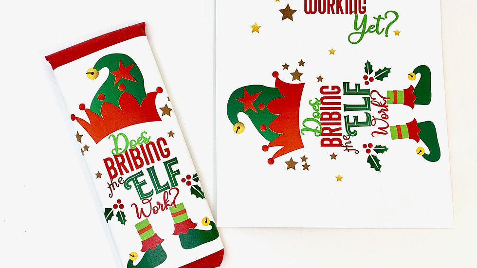 Candy Bar Wrappers - Does Bribing the Elf Work