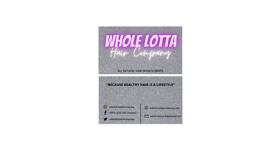 Business Cards, Front and Backside Cards