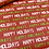 Thumbnail: Happy Holidays Candy Bar Wrappers