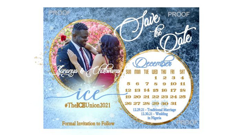 Mr. and Mrs. Save The Date Magnets - ICE wedding