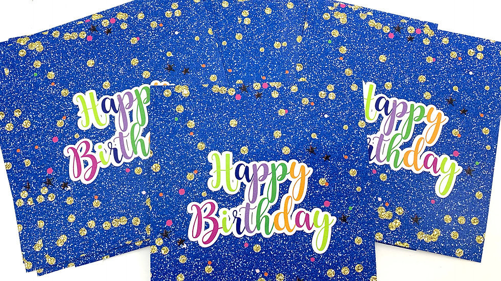 Happy Birthday Candy Bar Wrappers