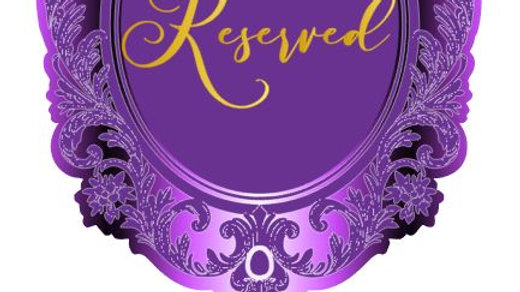 Oversized Table Numbers - Mirror Design