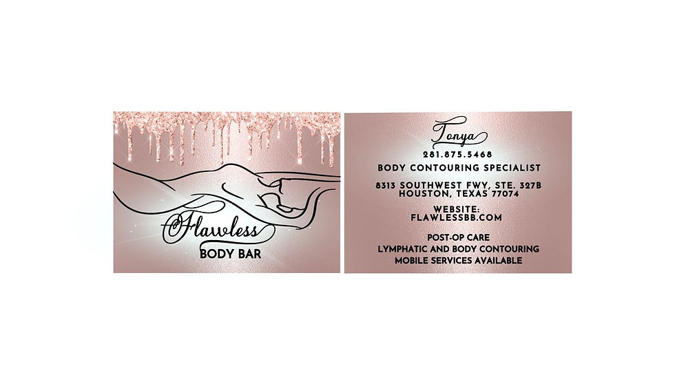 Private Listing - Flawless Body Bar