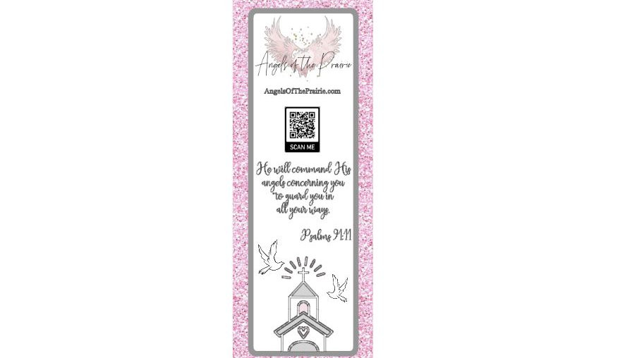 Angels of the Prairie - 50 Bookmarks