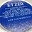 Thumbnail: Royal Blue and Simulated Silver Glitter Thank You Rounds or Menu Circles