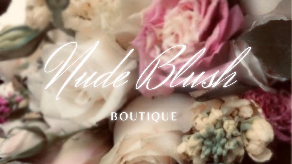 Nude Blush Boutique Sticker Sheets
