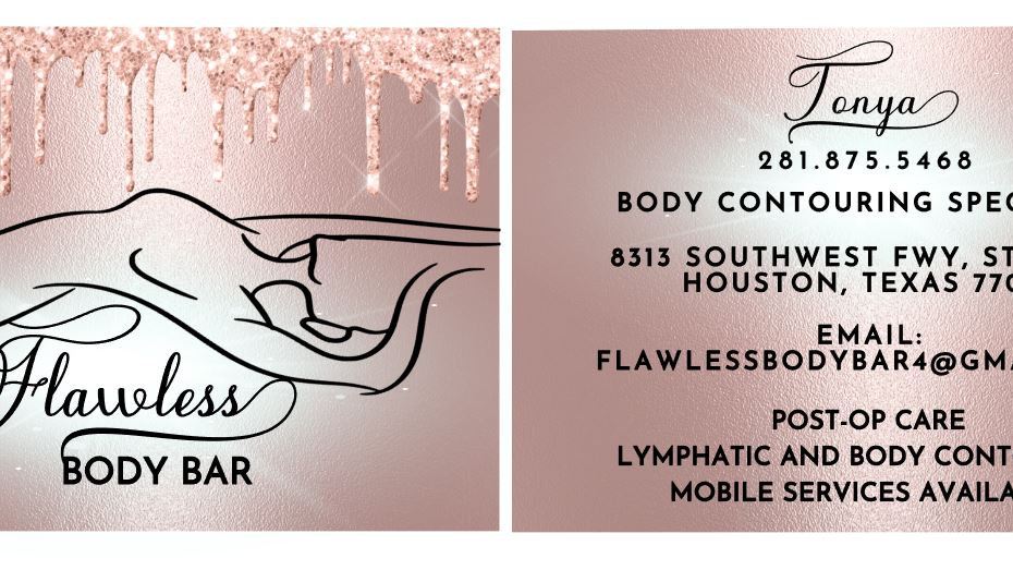 Flawless Business Cards, Front and Backside Cards
