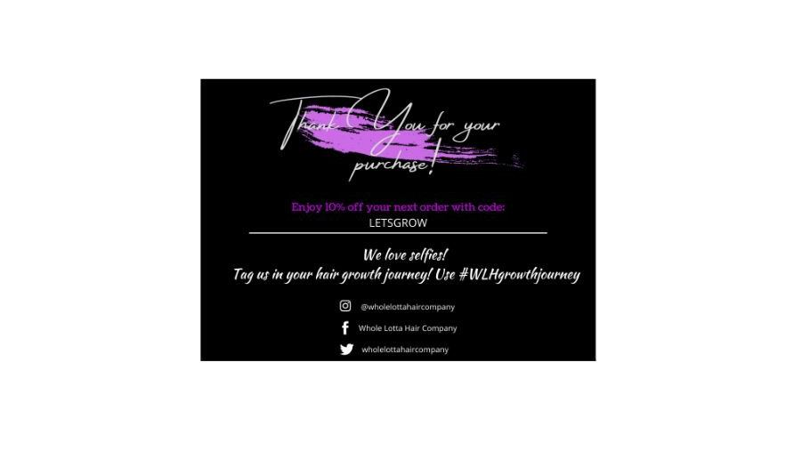 """Thank You Business Cards - 7"""" x 5"""""""