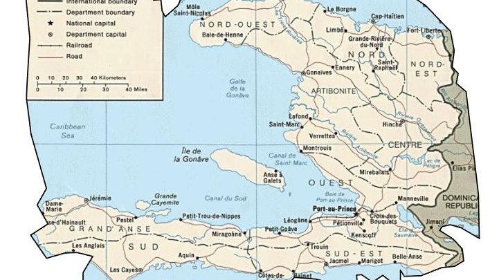 Haiti Map Cards