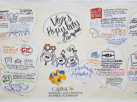 CAPINA 30 ANOS: Vozes populares da economia