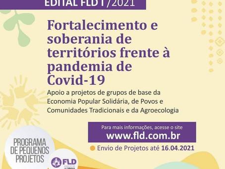 FLD recebe projetos para Fortalecimento e soberania de territórios frente à pandemia de covid-19
