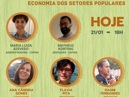 Live - Diálogos sobre a contabilidade na Economia dos Setores Populares