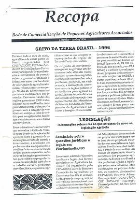 Primeiro Circular RECOPA jun/1996