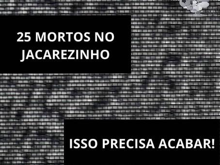 Chacina no Jacarezinho: quando isso vai acabar?