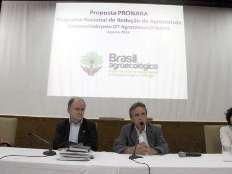 Comissão Nacional de Agroecologia aprova Programa Nacional de Redução de Agrotóxicos