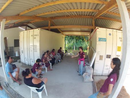 Visita ao Ipema contribui com agricultura familiar de Ubatuba - SP.