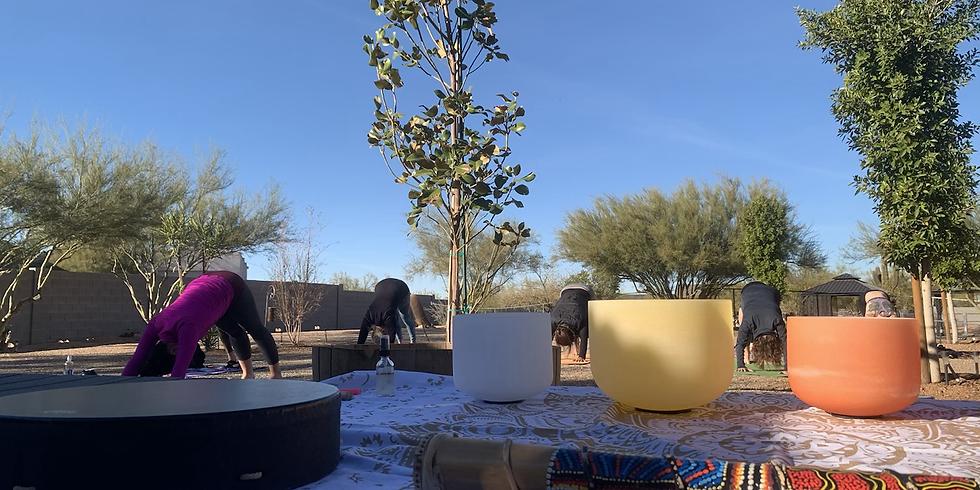 Outdoor Reiki Infused Yoga & Sound Bath