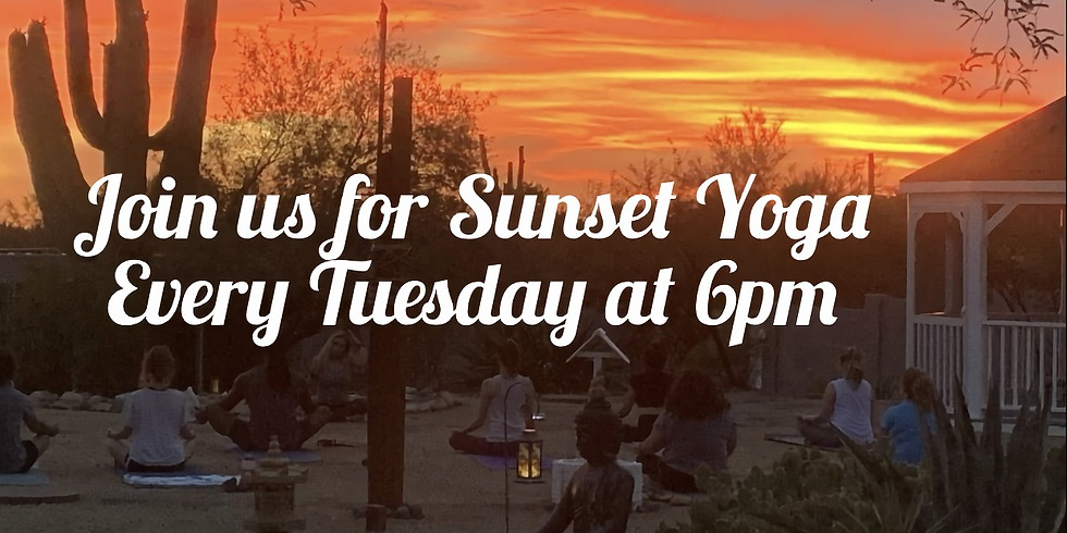Sunset Yoga & Sound Bath