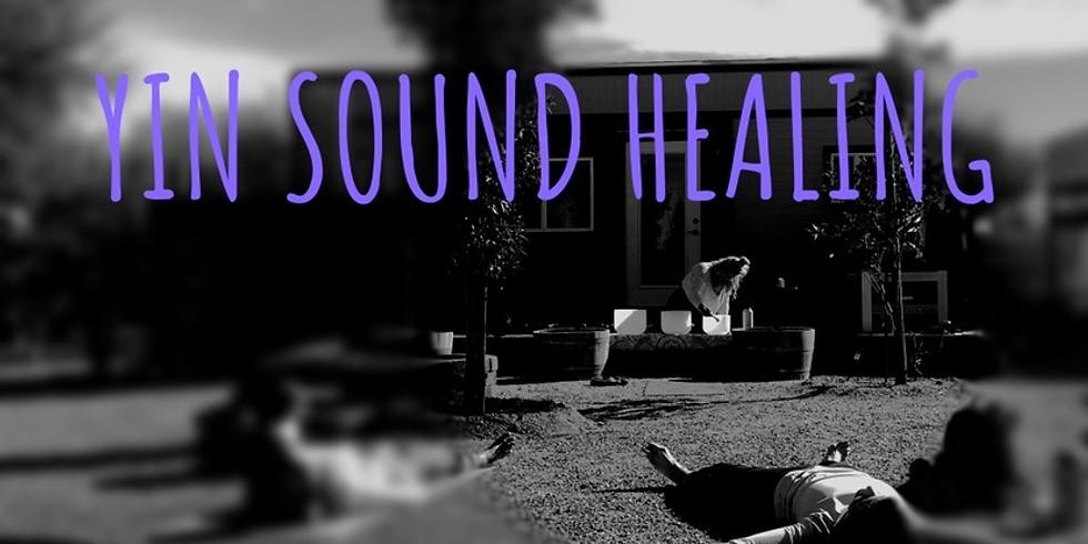 Yin Sound Healing Session