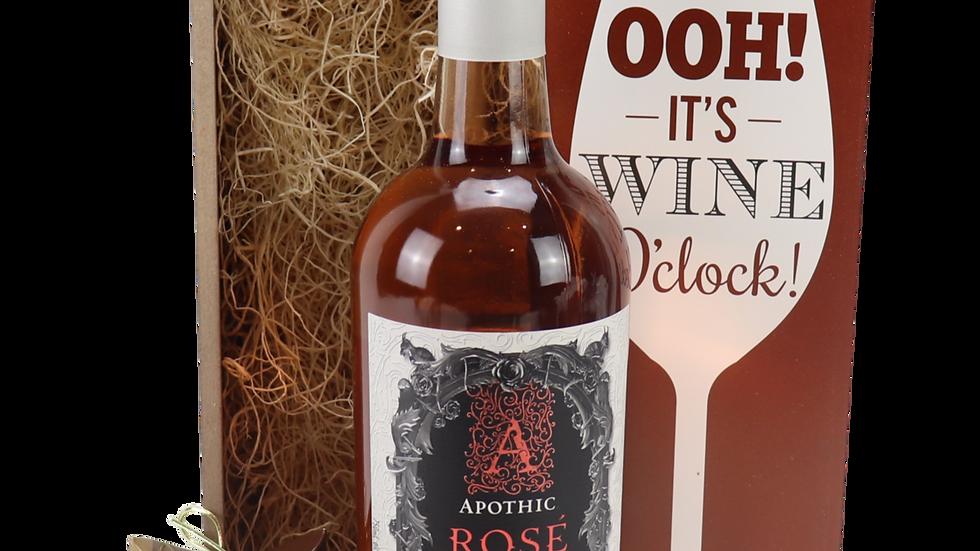 Apothic Rose Wine O'Clock