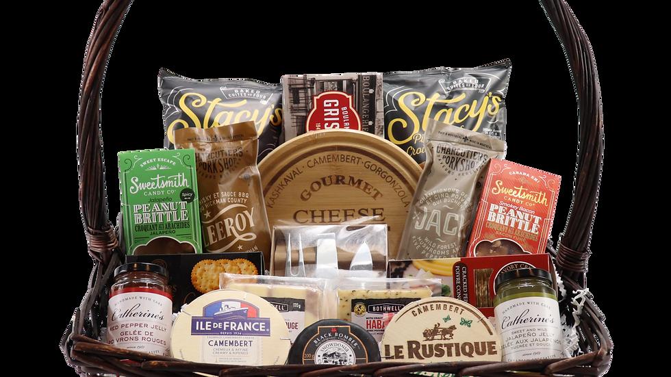 Premium Cheese and Cracker Snacker