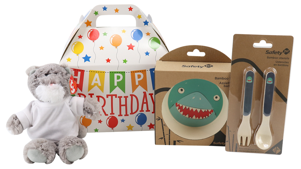 Shark First Birthday Gift Set