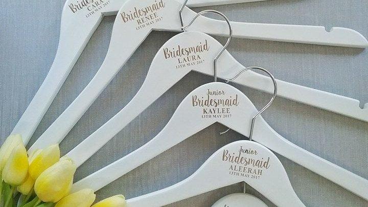Custom Bridal Wedding Hanger (6 Pack)
