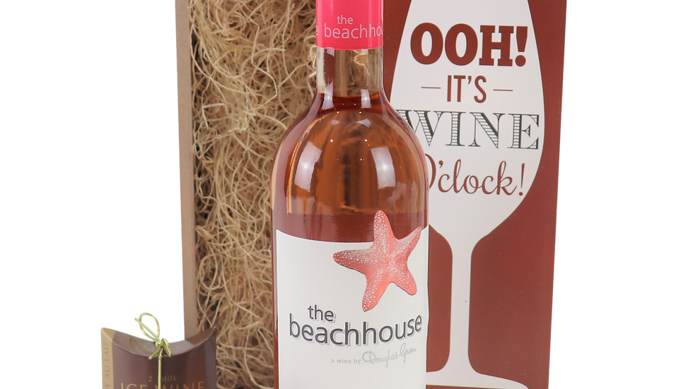 The Beachhouse Rose Wine O'Clock