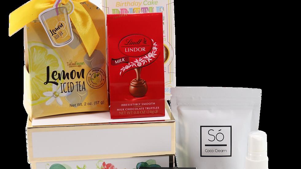 Floral Spa Gift Set