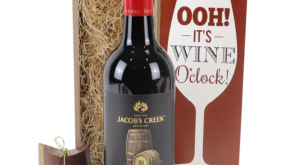 Jacob's Creek Double Barrell Shiraz Wine O'Clock
