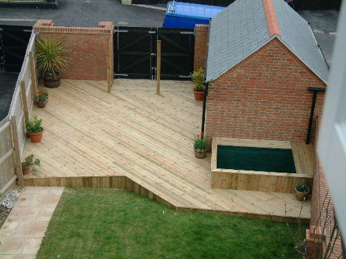 Decking Dorchester Weymouth Dorset