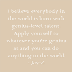Jay-Z my first mentor