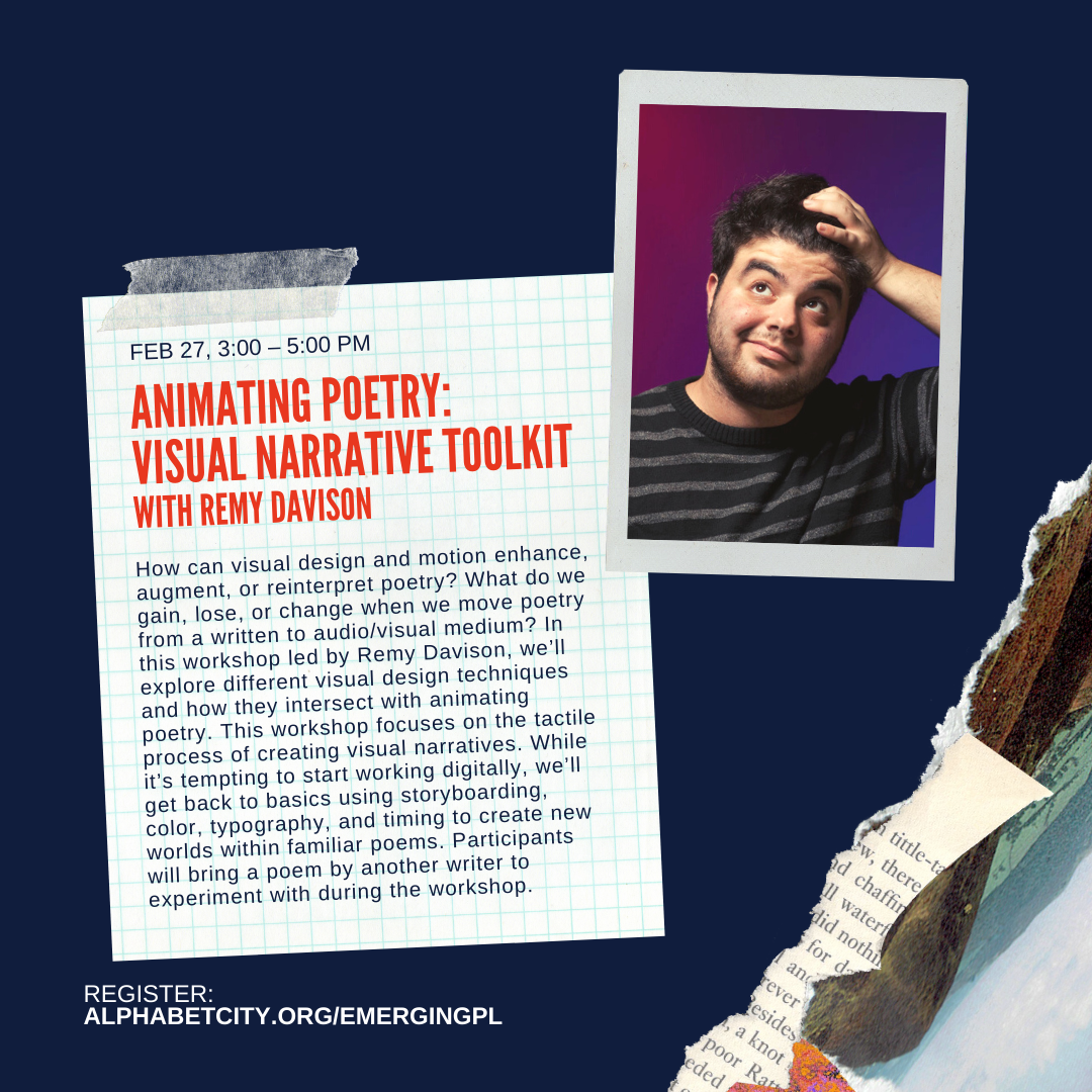 Animating Poetry: Visual Narrative Toolkit